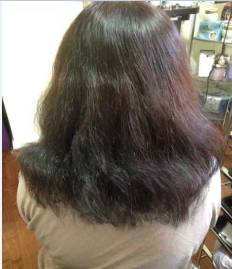 Japanese Hair Straightening Thermal Reconditioning