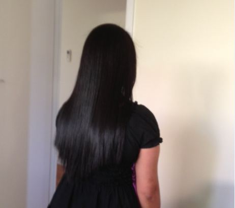 Hair Straightening for our valued client
