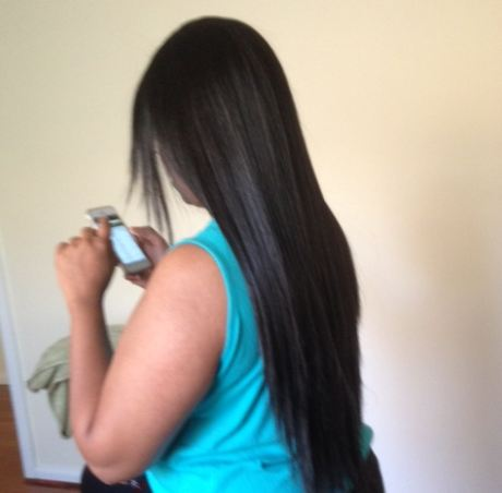 after permanent straightening hair how to keep it straight