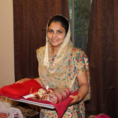 Bride before Makeup